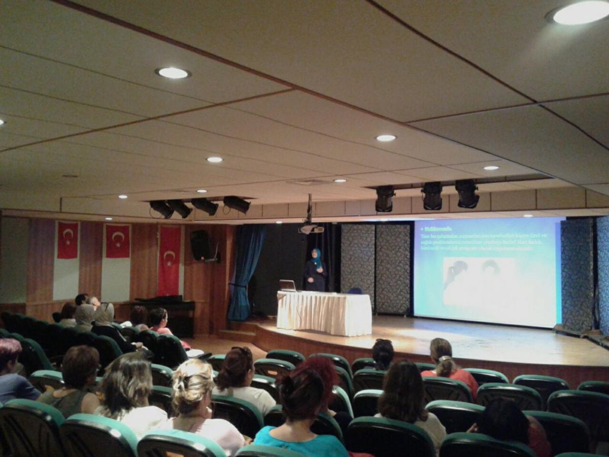 Hüseyin Ani Sözen Anadolu Lisesi , Sağlıklı Yaşam Eğitim Semineri, 2016